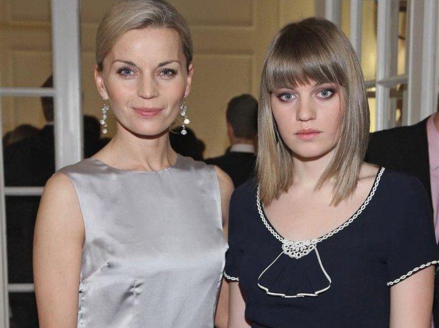 Małgorzata Foremniak z córką