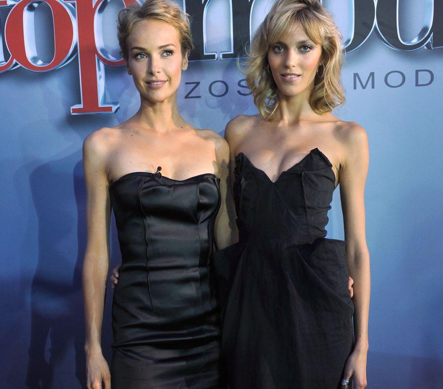 Anja Rubik i Magdalena Mielcarz w \