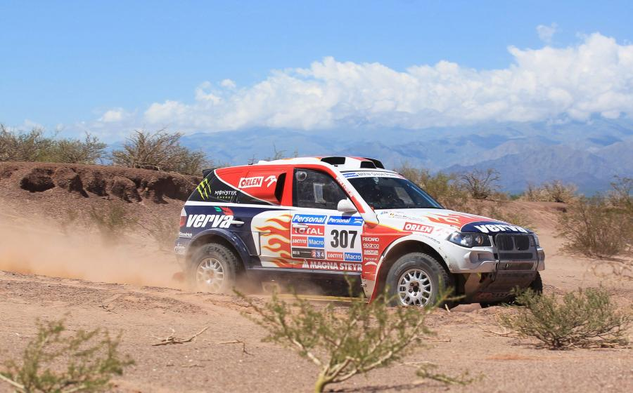 Rajd Dakar - Hołowczyc czwarty