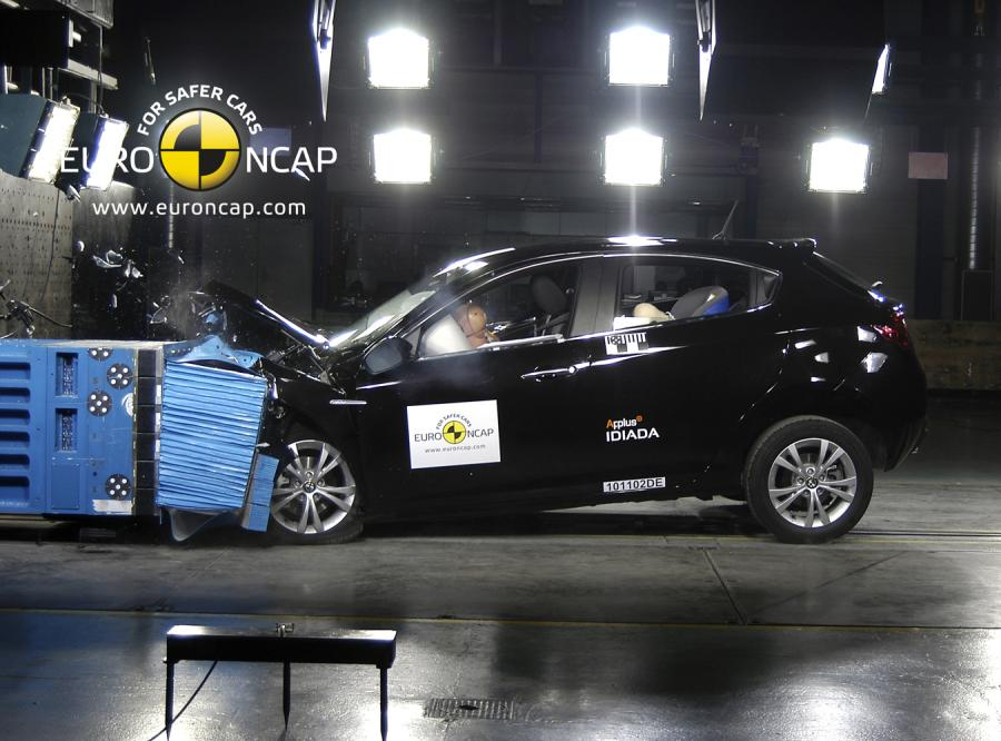 Jak wynika zestawienia przygotowanego przez Euro NCAP najbezpieczniejszym samochodem jeśli chodzi o ochronę pasażerów jest alfa romeo giulietta - auto gwarantuje aż 97-procentowy poziom ochrony osób dorosłych