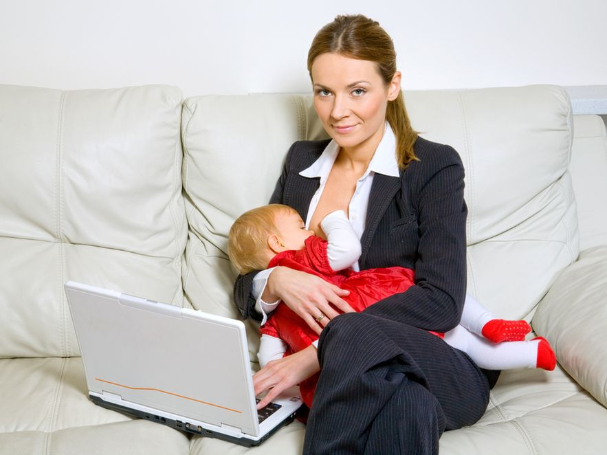 Mamie trudniej jest włączyć się w rynek pracy
