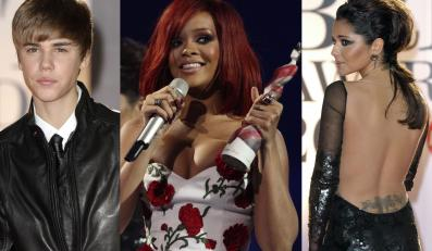 Justin Bieber, Rihanna i Cheryl Cole