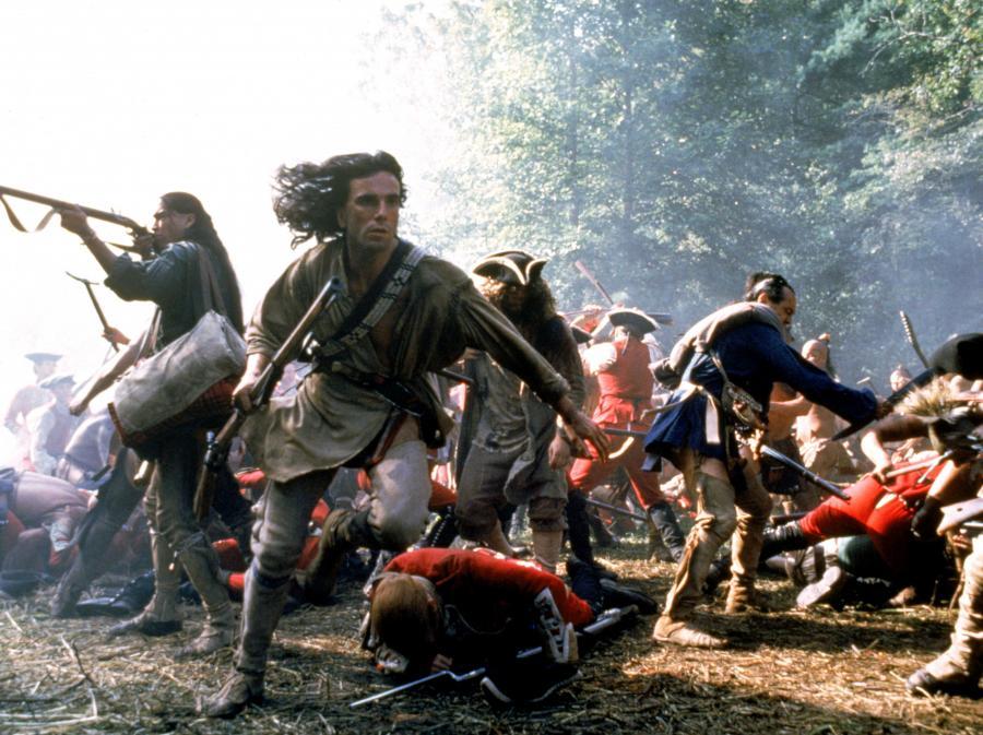 """Daniel Day-Lewis (""""Ostatni Mohikanin"""" i """"Czarownice z Salem"""")"""
