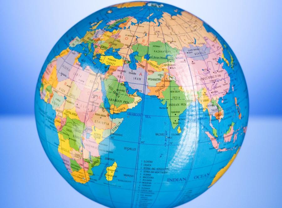 MAPA ZDRAPKA ŚWIAT Travel Map™ Weekend World - Mapka