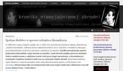 UOP werbował zaginionego dziennikarza Jarosława Ziętarę