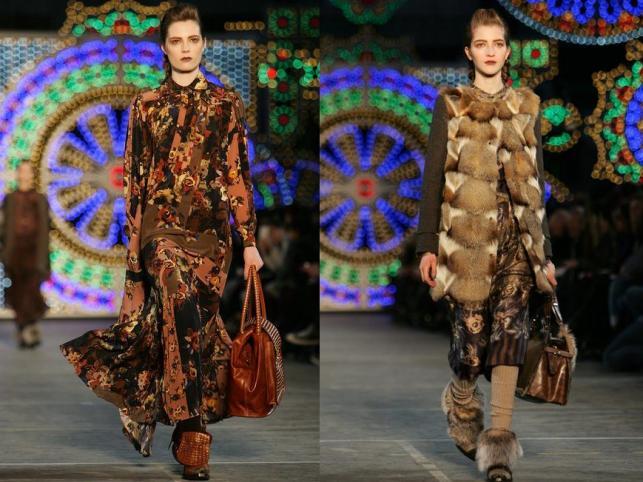 Kenzo w kolekcji jesień-zima 2011/2012 na Paris Fashion Week