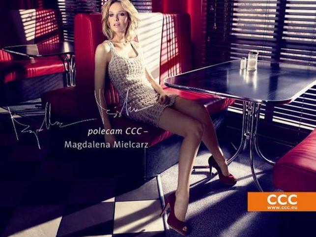 Magdalena Mielcarz w wiosennej kampanii CCC