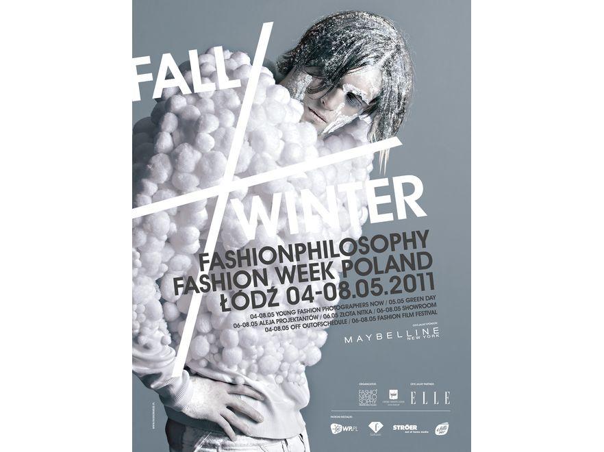 Plakat wiosennej edycji Fashion Week Poland