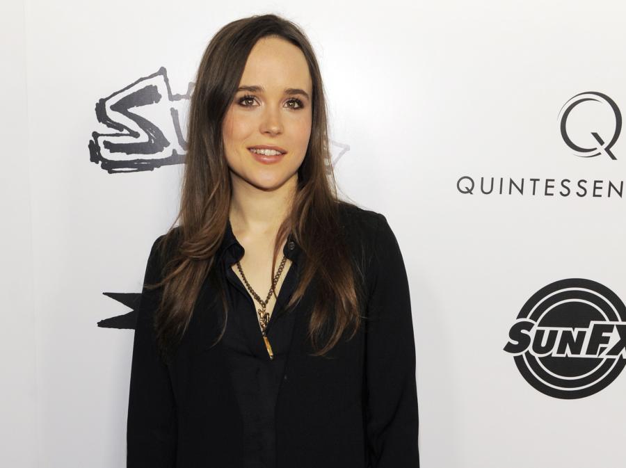 Ellen Page na premierze fimu \