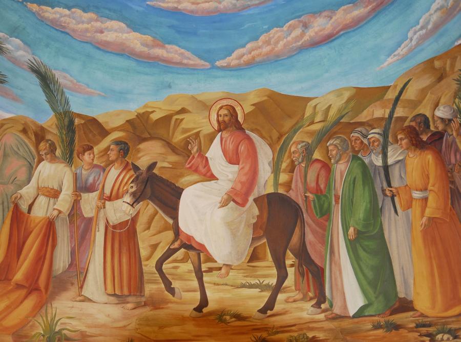 Niedziela Palmowa to ostatnia niedziela przed Wielkanocą