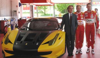 Prezydent Ferrari osobiście do Polaka