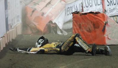 Rafał Dobrucki miał wypadek na torze