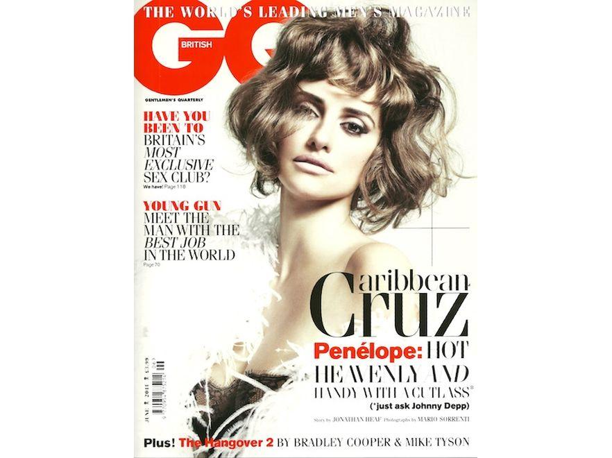 "Penelope Cruz na okładce magazynu ""GQ"""