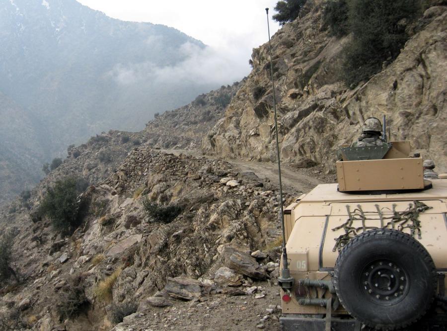 650-osobowa, pierwsza grupa amerykańskich żołnierzy została wycofana z Afganistanu