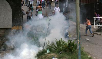 Bunt w więzieniu w Wenezueli