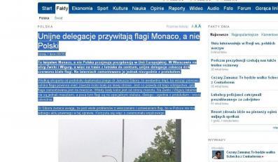 Wpadka władz Warszawy. To Monako przejmuje prezydencję