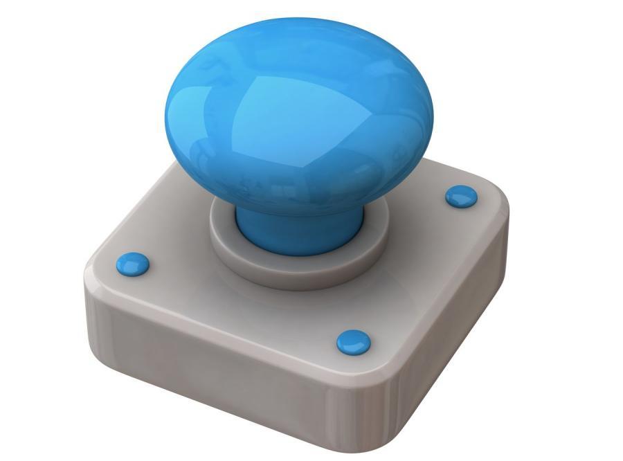 Niebieski guzik zmieni wszystko