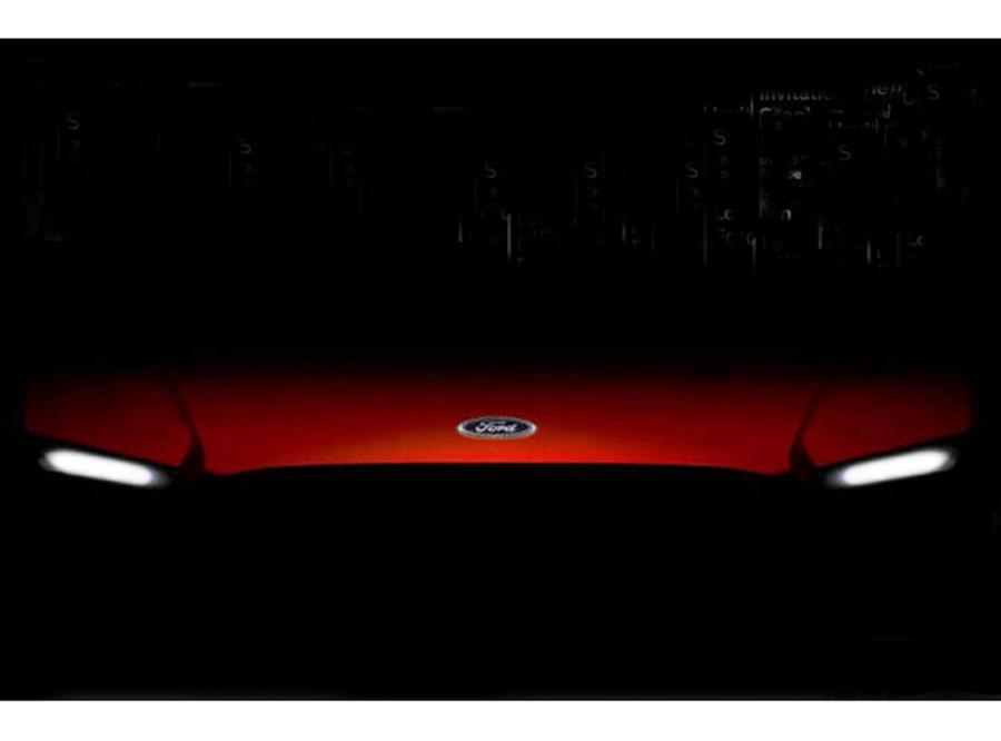 Tajemnicze zdjęcie nowego Forda