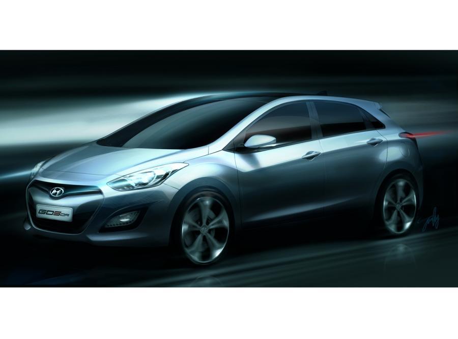 Hyundai ujawnił pierwsze zdjęcie nowej generacji modelu i30