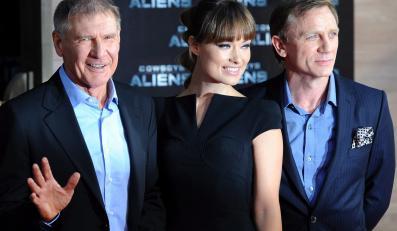 Harrison Ford, Olivia Wilde i Daniel Craig