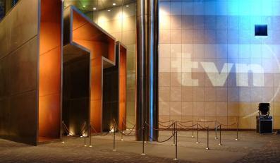 Wejście do siedziby TVN