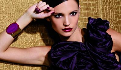 Dzikość w sercu: wyrazisty makijaż na jesień