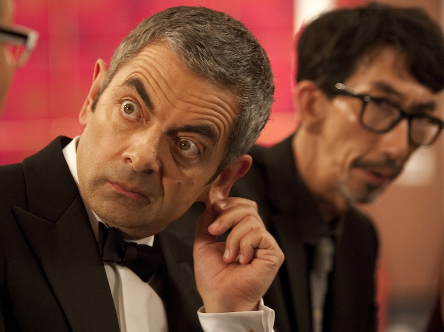 Johnny English, czyli Rowan Atkinson, czyli Jaś Fasola