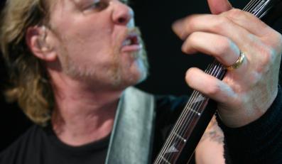 James Hetfield na scenie