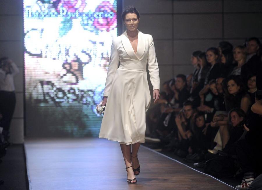 Ilona Felicjańska na Fashion Week Poland w Łodzi
