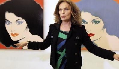 Diane von Furstenberg to światowa ikona mody.