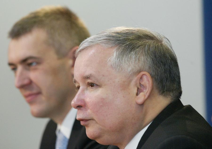 Roman Giertych i Jarosław Kaczyński