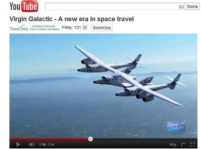 Era turystyki kosmicznej