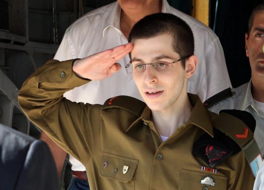 Gilad Szalit zemdlał przed spotkaniem z rodziną
