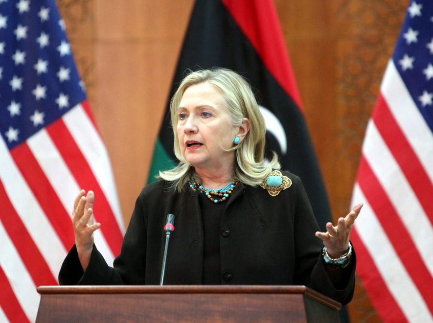 Hillary Clinton we wtorek była w Trypolisie