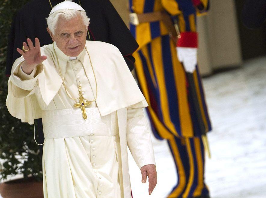 Niemiec doniósł na papieża