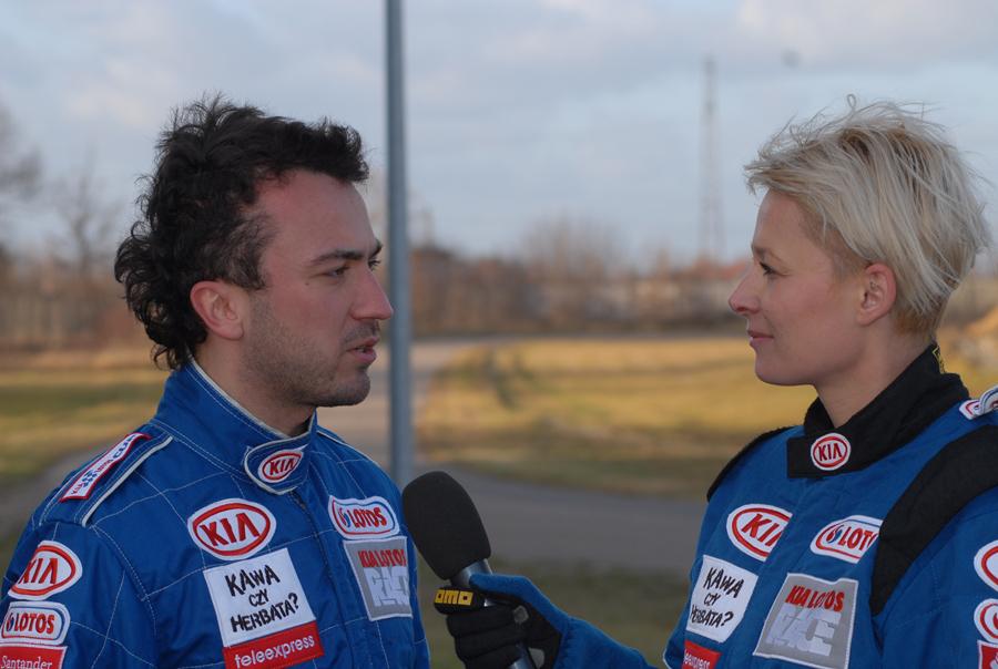 Bartłomiej Jakubowski i Odeta Moro-Figurska