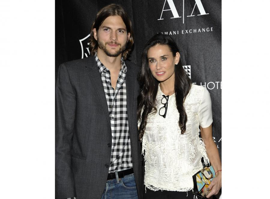 Demi Moore i Asthon Kutcher