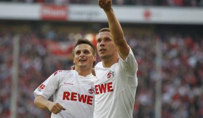 Sławomir Peszko i Lukas Podolski