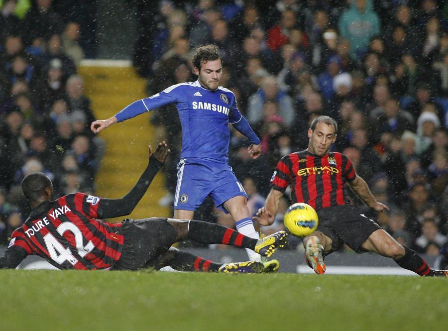 Chelsea pokonała Man City