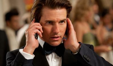 "Tom Cruise w filmie ""Mission Impossible: Ghost Protocol"""