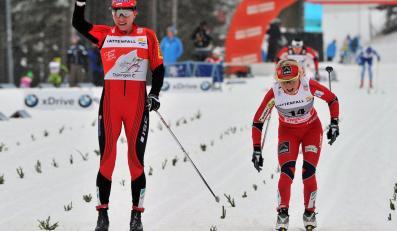 Justyna Kowalczyk i Therese Johaug