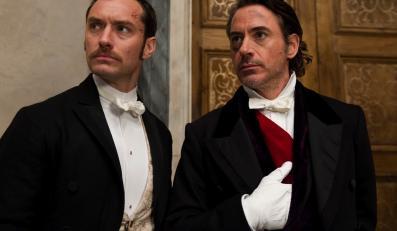 Robert Downey Jr. i Jude Law znów chcą być Sherlockiem i Watsonem