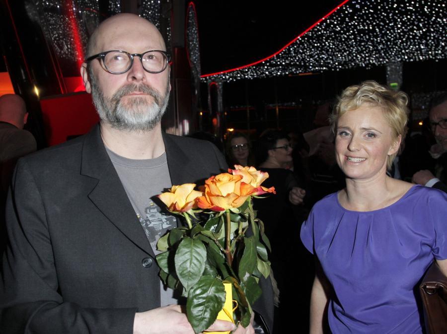 Wojciech Smarzowski i Kinga Preis na premierze \
