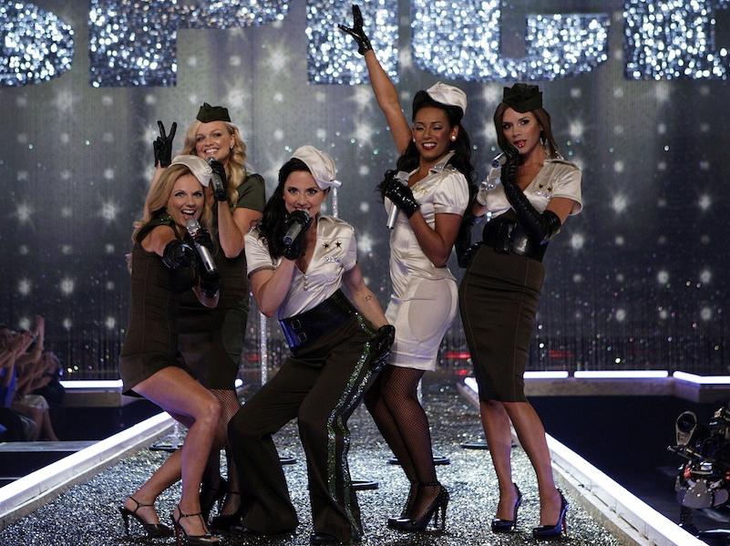 Spice Girls w 2007 roku
