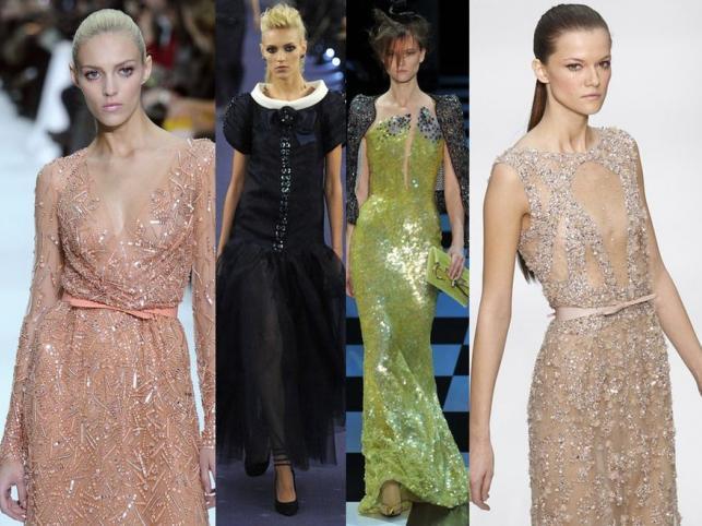 Anja Rubik i sia Struss na wybiegach Paris Fashion Week