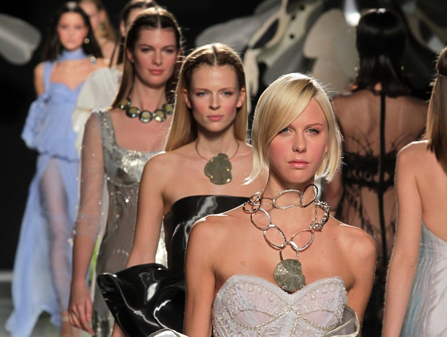 Pokaz kolekcji Gattinoni podczas AltaRoma Fashion Week S/S 2012