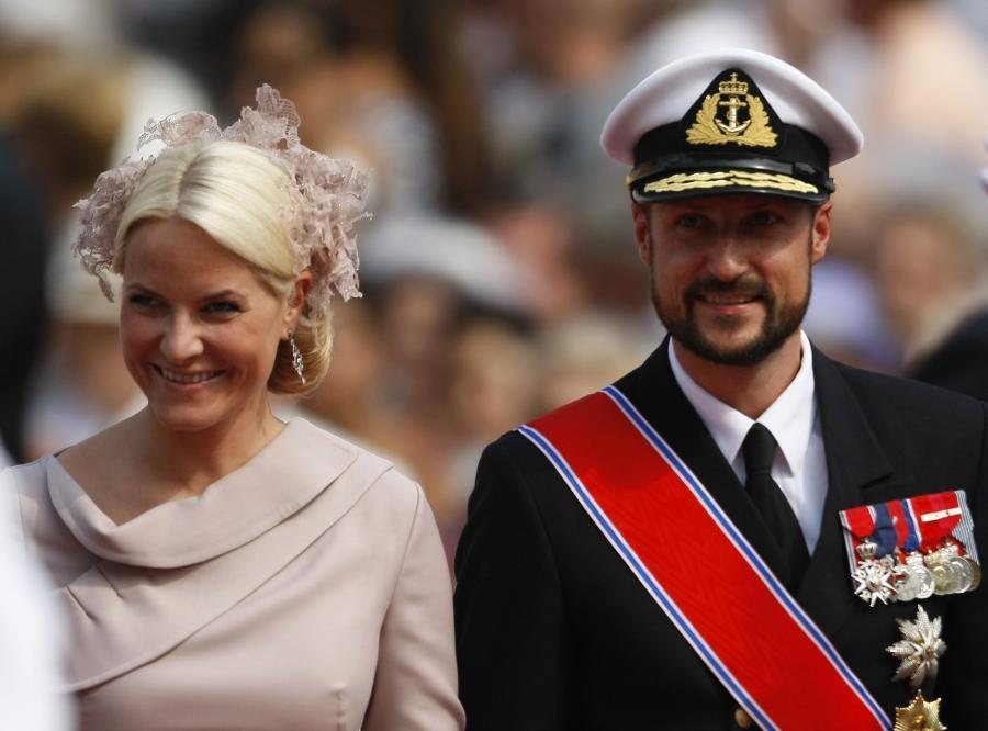 Norweska para książęca. Książę Haakon i księżna Mette-Merit
