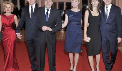 Politycy i ich żony na XIV Balu Dziennikarzy