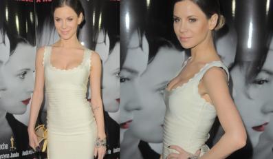 """Natalia Lesz na premierze filmu """"Sponsoring"""" w sukience z najnowszej kolekcji Herve Leger"""