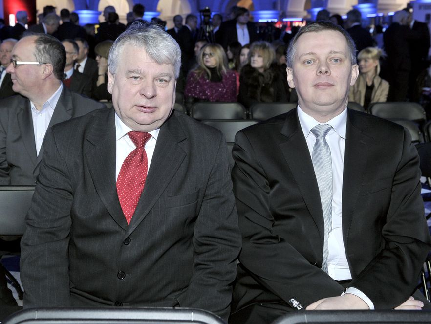 Bogdan Borusewicz i Tomasz Siemoniak